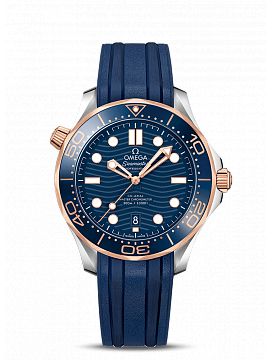 DIVER 300M OMEGA CO‑AXIAL MASTER CHRONOMETER 42 MM 210.22.42.20.03.002