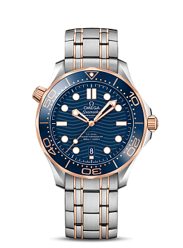 DIVER 300M OMEGA CO‑AXIAL MASTER CHRONOMETER 42 MM 210.20.42.20.03.002